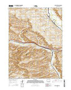 Point of Rocks Wyoming Current topographic map, 1:24000 scale, 7.5 X 7.5 Minute, Year 2015 from Wyoming Map Store
