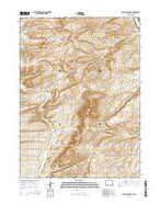 Point of Rocks SE Wyoming Current topographic map, 1:24000 scale, 7.5 X 7.5 Minute, Year 2015 from Wyoming Map Store
