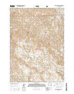 Rattlesnake Draw Wyoming Current topographic map, 1:24000 scale, 7.5 X 7.5 Minute, Year 2015 from Wyoming Map Store