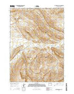 Rattlesnake Gulch Wyoming Current topographic map, 1:24000 scale, 7.5 X 7.5 Minute, Year 2015 from Wyoming Map Store