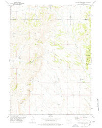 Rawhide Buttes West Wyoming Historical topographic map, 1:24000 scale, 7.5 X 7.5 Minute, Year 1978