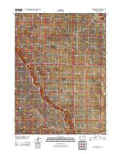 Red Desert SE Wyoming Historical topographic map, 1:24000 scale, 7.5 X 7.5 Minute, Year 2012