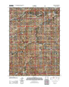 Red Hill Wyoming Historical topographic map, 1:24000 scale, 7.5 X 7.5 Minute, Year 2012