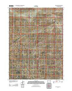 Red Lake SW Wyoming Historical topographic map, 1:24000 scale, 7.5 X 7.5 Minute, Year 2012