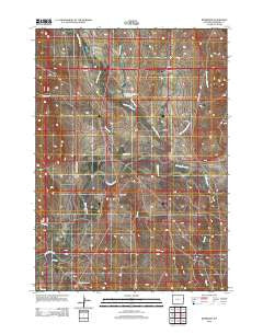 Riverview Wyoming Historical topographic map, 1:24000 scale, 7.5 X 7.5 Minute, Year 2012