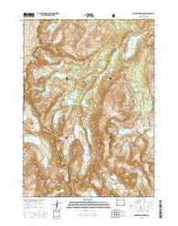 Roberts Mountain Wyoming Current topographic map, 1:24000 scale, 7.5 X 7.5 Minute, Year 2015