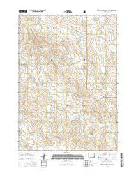 Sheep Canyon Creek East Wyoming Current topographic map, 1:24000 scale, 7.5 X 7.5 Minute, Year 2015