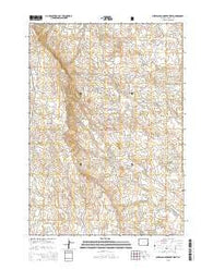 Sheep Canyon Creek West Wyoming Current topographic map, 1:24000 scale, 7.5 X 7.5 Minute, Year 2015
