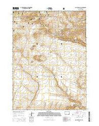 South Pass City Wyoming Current topographic map, 1:24000 scale, 7.5 X 7.5 Minute, Year 2015
