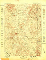 Sundance Wyoming Historical topographic map, 1:125000 scale, 30 X 30 Minute, Year 1898