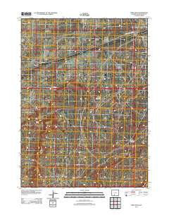Table Rock Wyoming Historical topographic map, 1:24000 scale, 7.5 X 7.5 Minute, Year 2012