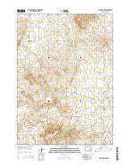 Telephone Draw Wyoming Current topographic map, 1:24000 scale, 7.5 X 7.5 Minute, Year 2015 from Wyoming Map Store