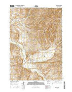 Ten Sleep Wyoming Current topographic map, 1:24000 scale, 7.5 X 7.5 Minute, Year 2015 from Wyoming Map Store
