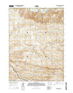 Tenmile Spring Wyoming Current topographic map, 1:24000 scale, 7.5 X 7.5 Minute, Year 2015 from Wyoming Map Store