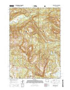 Togwotee Pass Wyoming Current topographic map, 1:24000 scale, 7.5 X 7.5 Minute, Year 2015 from Wyoming Map Store