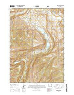Torrey Lake Wyoming Current topographic map, 1:24000 scale, 7.5 X 7.5 Minute, Year 2015 from Wyoming Map Store