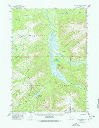 Two Ocean Pass Wyoming Historical topographic map, 1:62500 scale, 15 X 15 Minute, Year 1959