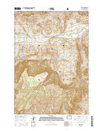 Wapiti Wyoming Current topographic map, 1:24000 scale, 7.5 X 7.5 Minute, Year 2015 from Wyoming Map Store