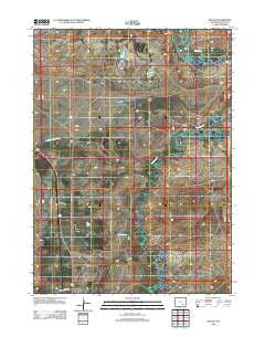 Wilcox Wyoming Historical topographic map, 1:24000 scale, 7.5 X 7.5 Minute, Year 2012
