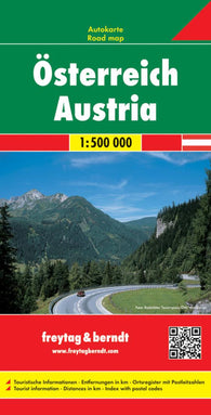 Buy map Austria, Road Map by Freytag-Berndt und Artaria