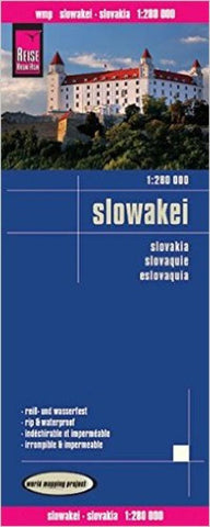Buy map Slovakia by Reise Know-How Verlag