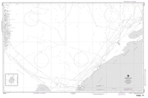 Buy map Weddell Sea, Antarctica (NGA-29030-6) by National Geospatial-Intelligence Agency