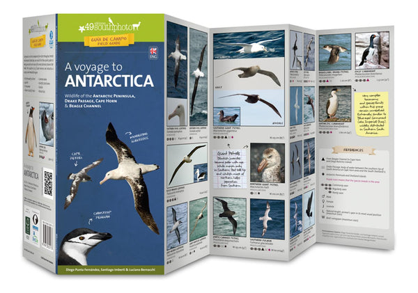 Buy map A Voyage to Antartica Field Guide (Wildlife) by 49southphoto