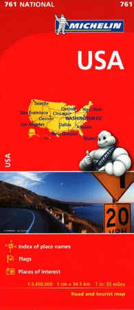 Buy map United States (761) by Michelin Maps and Guides