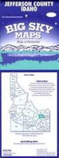 Buy map Jefferson County, Idaho by Big Sky Maps