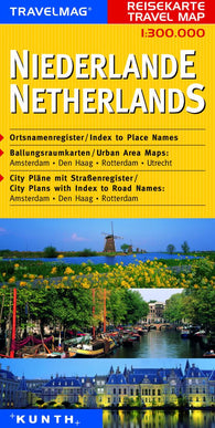 Buy map Netherlands by Kunth Verlag