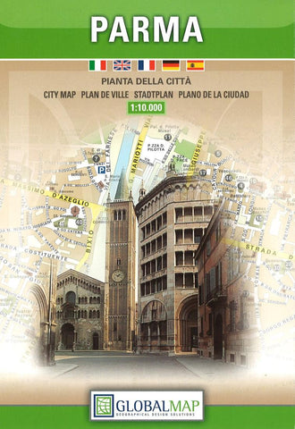 Buy map Parma, Italy by Litografia Artistica Cartografica