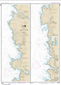 Buy map Albion to Caspar (18628-9) by NOAA