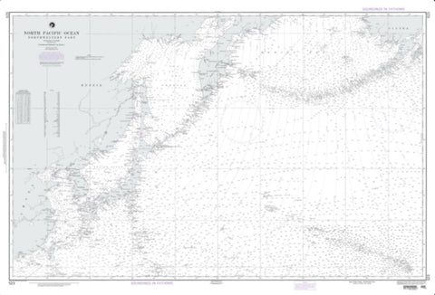 Buy map North Pacific Ocean (Northwestern Portion) (NGA-523-8) by National Geospatial-Intelligence Agency
