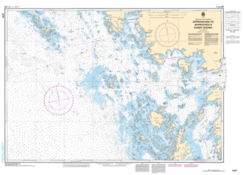 Buy map Approaches to/Approches a Parry Sound by Canadian Hydrographic Service