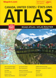 Buy map Canada & United States Road Atlas (French/English edition) by Canadian Cartographics Corporation
