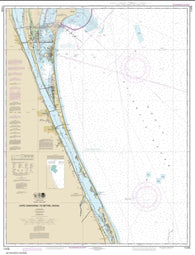 Buy map Cape Canaveral to Bethel Shoal (11476-23) by NOAA