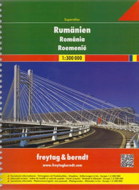 Buy map Romania, Superatlas by Freytag-Berndt und Artaria