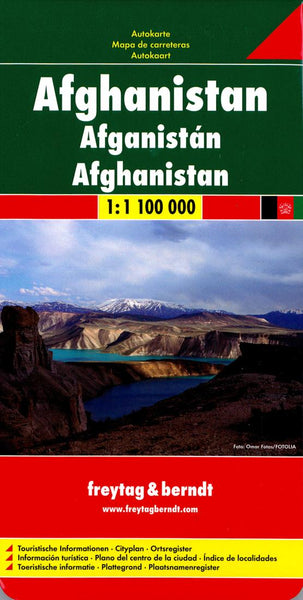 Buy map Afghanistan by Freytag-Berndt und Artaria