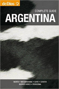 Buy map Argentina, Complete Guide by deDios