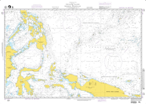 Buy map Pacific Ocean - Philippine Islands To Bismarck Archipelago (NGA-507-2) by National Geospatial-Intelligence Agency