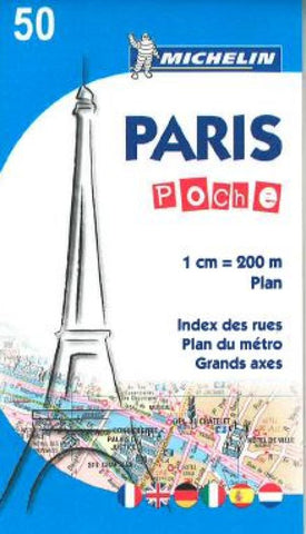 Buy map Paris Pocket (50) by Michelin Maps and Guides