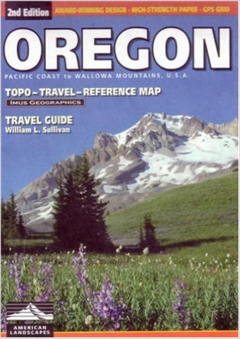 Buy map Oregon, Road Map and Travel Guide by Imus Geographics