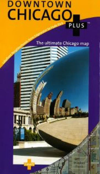 Buy map Chicago, Downtown, Illinois by Great Pacific Recreation & Travel Maps