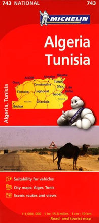 Buy map Algeria and Tunisia (743) by Michelin Maps and Guides