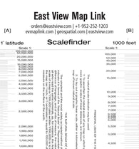 Buy map East View Map Link Scalefinder by Map Link (Firm), East View Press