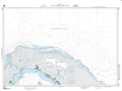 Buy map Puerto Cristobal To Cabo Tiburon - Panama (NGA-26060-1) by National Geospatial-Intelligence Agency
