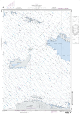Buy map Passages Between Acklins Islands, Haiti (NGA-26260-5) by National Geospatial-Intelligence Agency