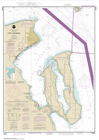 Buy map Port Townsend (18464-25) by NOAA