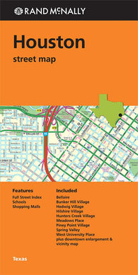 Buy map Houston, Texas, Street Map by Rand McNally