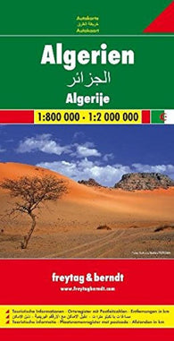 Buy map Algeria by Freytag-Berndt und Artaria